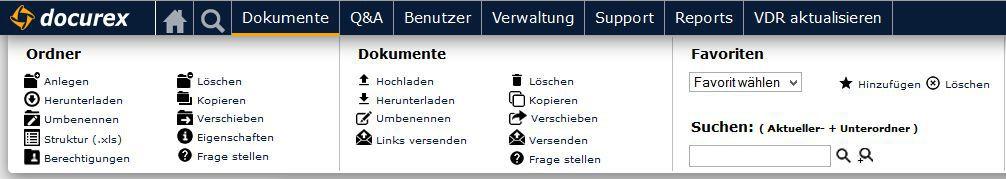 docurex - Screenshot